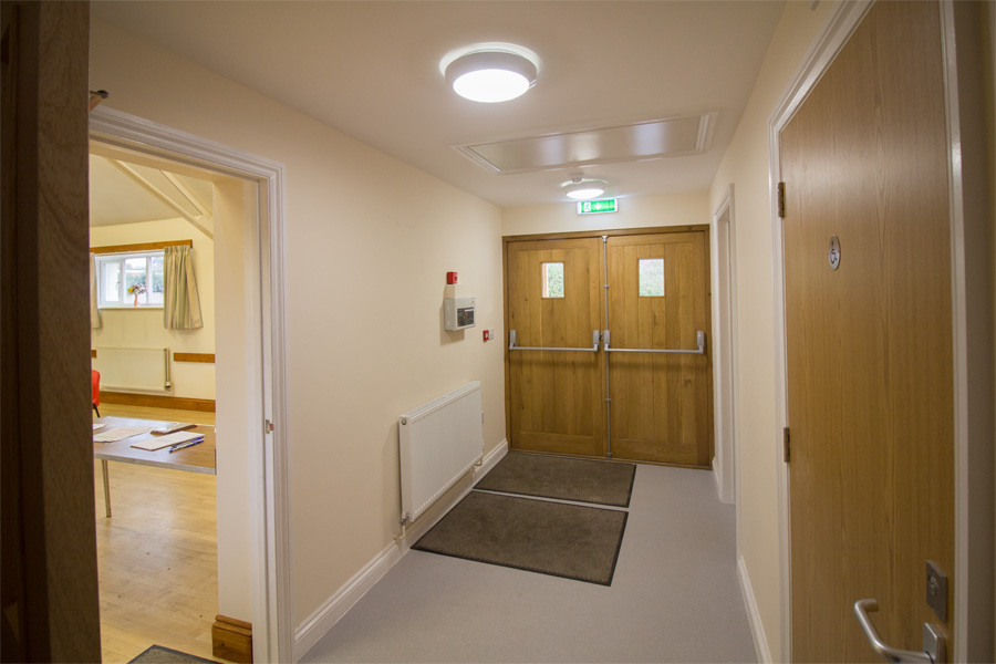 New entrance hall